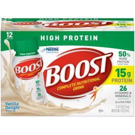 Nestle Boost High Protein RTD Vanilla Drink 8oz.