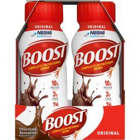 Nestle Boost Original RTD Prebio Chocolate Flavored Nutritional Beverage 8oz.