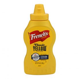 French's Yellow Mustard Squeeze Bottle 8oz.