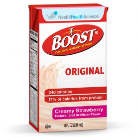 Nestle Boost Strawberry Flavored Meal Replacement Drink 8oz.