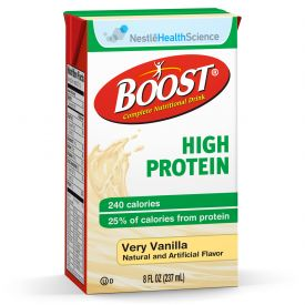 Nestle Boost High Protein Vanilla Flavored Meal Replacement Drink 8oz.