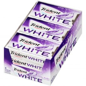 Trident White Spearmint Sugar Free Gum - 16 ct