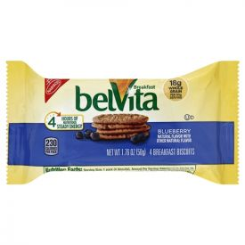 BelVita Breakfast Biscuits, Blueberry, 1.76 oz