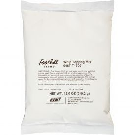 Foothill Farms Whipped Dessert Topping Mix 12oz.