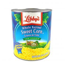 Libby's Low Sodium Whole Kernel Sweet Corn - 106oz