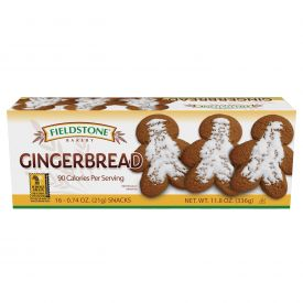 Fieldstone Gingerbread Snack .74oz.
