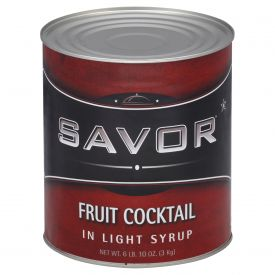 Savor Fruit Cocktail in Light Syrup #10