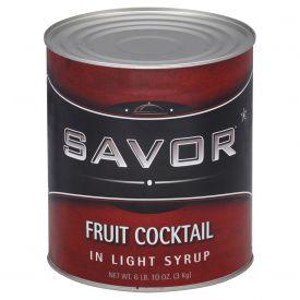 Savor Fruit Cocktail in Light Syrup #10
