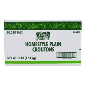 Fresh Gourmet Homestyle Plain Crouton 2.5lb.