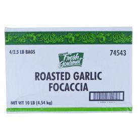 Fresh Gourmet Roasted Garlic Focaccia Crouton 2.5lb.