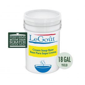 Legout Bases/Bouillions Cream Soup Base, 22.5 lb