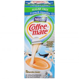 Coffee-Mate Sugar Free French Vanilla Liquid Creamer .375oz.