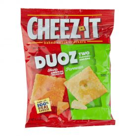 Cheez-It Duoz Sharp Cheddar – Parmesan Crackers - 4.3oz