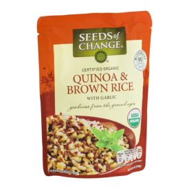 Seeds Of Change Quinoa & Brown Rice With Garlic - 8.5 oz