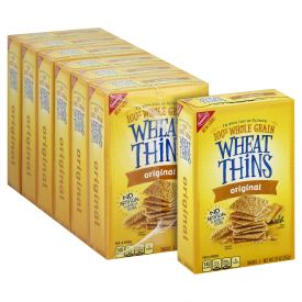 Wheat Thins Snack Crackers, 9.1 oz