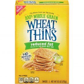 Nabisco, Wheat Thins, Reduced Fat Crackers, 8.5oz