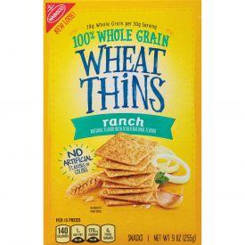 Nabisco Ranch Wheat Thins Snacks, 9 Oz