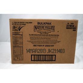 Nature Valley Granola Cereal Bulkpak Oats 'n Honey, 50 oz