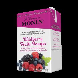 Monin Wildberry Fruit Smoothie Mix 46oz.