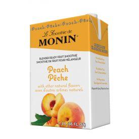 Monin Peach Fruit Smoothie Mix 46oz.