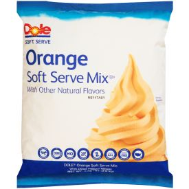 Dole Orange Soft Serve 4.4lb.