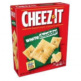 Sunshine Cheez It White Cheddar Baked Snack Crackers, 7OZ