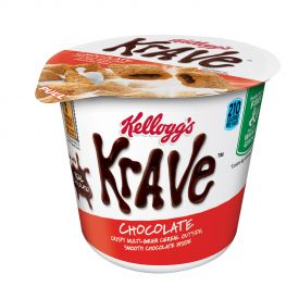 Kellogg's Krave Chocolate Cereal Cups 1.87oz.