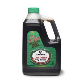 Kikkoman Low Sodium Soy Sauce (Lite Soy) 64oz.