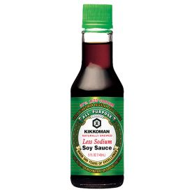 Kikkoman Low Sodium Soy Sauce 5oz.