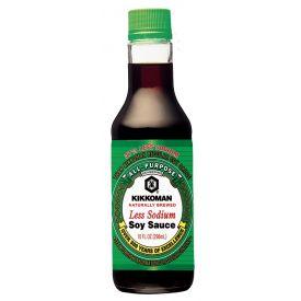 Kikkoman Low Sodium Soy Sauce 10oz.