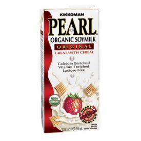 Kikkoman Pearl Organic Soymilk Original 32oz.