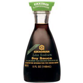Kikkoman Low Sodium Soy Sauce 5oz.