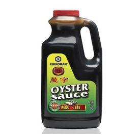 Kikkoman No MSG Oyster Flavored Sauce - 5lb