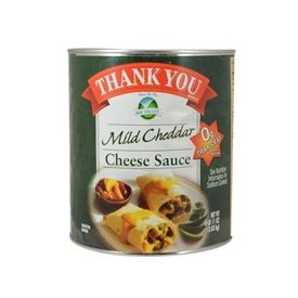 Thank You Mild Cheddar Cheese Sauce - 107oz