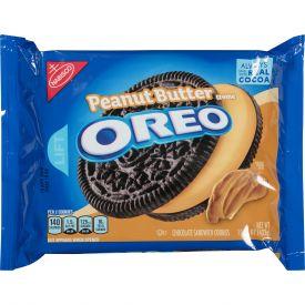 Oreo Peanut Butter Crème Chocolate Sandwich Cookies - 15.25oz