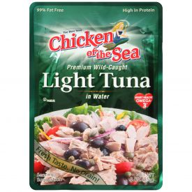 Chicken Of The Sea Premium Light Tuna Pouch 3oz.