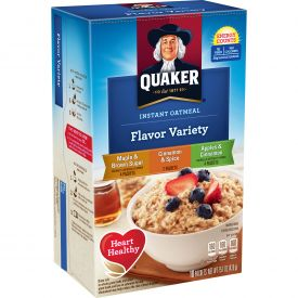Quaker Instant Oatmeal Flavor Variety Pack 1.51oz