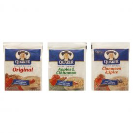 Quaker Variety Instant Oatmeal 1.51oz.