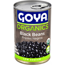 Goya Organic Low-Sodium Black Beans - 15.5oz