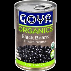 Goya Organic Low-Sodium Black Beans - 15.5oz