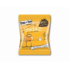 Crave-N-Rave Spikerz El Nacho Cheese Cracker Bites