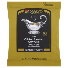 Custom Culinary PanRoast Chicken Flavored Gravy Mix - 12oz