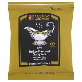 Custom Culinary PanRoast Turkey Flavored Gravy Mix - 12oz