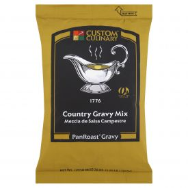 Custom Culinary PanRoast Country Gravy Mix 6-20oz