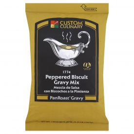 Custom Culinary PanRoast Peppered Biscuit Gravy Mix - 20oz