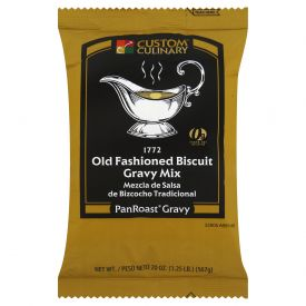 Custom Culinary PanRoastOld-Fashioned Biscuit Gravy Mix - 20oz