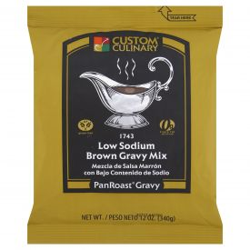 Custom Culinary PanRoast Brown Gravy Mix - 12oz