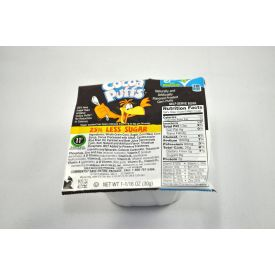 General Mills Cocoa Puffs 25% Less Sugar Cereal Bowls 1.06oz.