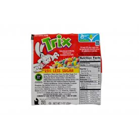 Trix 25% Less Sugar Cereal Bowls 1oz.