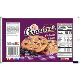 Grandma's Oatmeal Raisin Cookies, 2.5oz